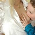 Kissing Lesbians